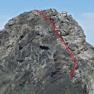 Gipfelaufbau Lizumer Reckner
