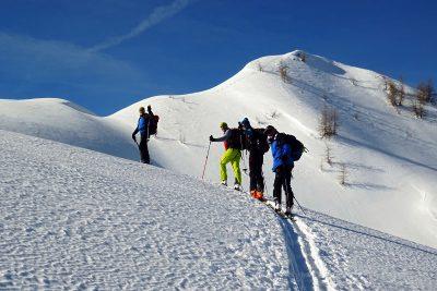 Naturfreunde Skitour auf die Scheibenspitze