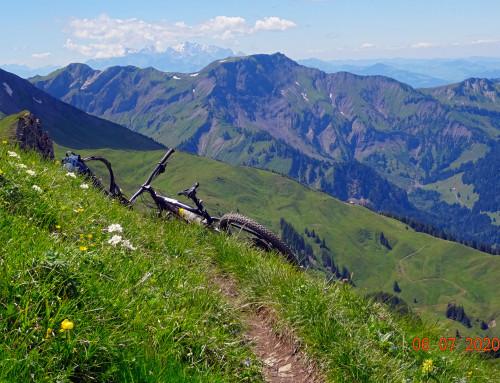 Mountainbiken im Bregenzerwald 2020